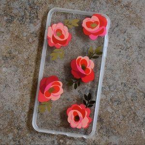 NWOT Sonix Floral Rosalie Clear Case iphone 6+/6s+